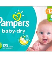 Pampers Baby Dry S1 Super Pack 120's