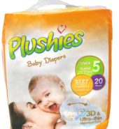 Plushies Diapers Baby Stage 5 20ct
